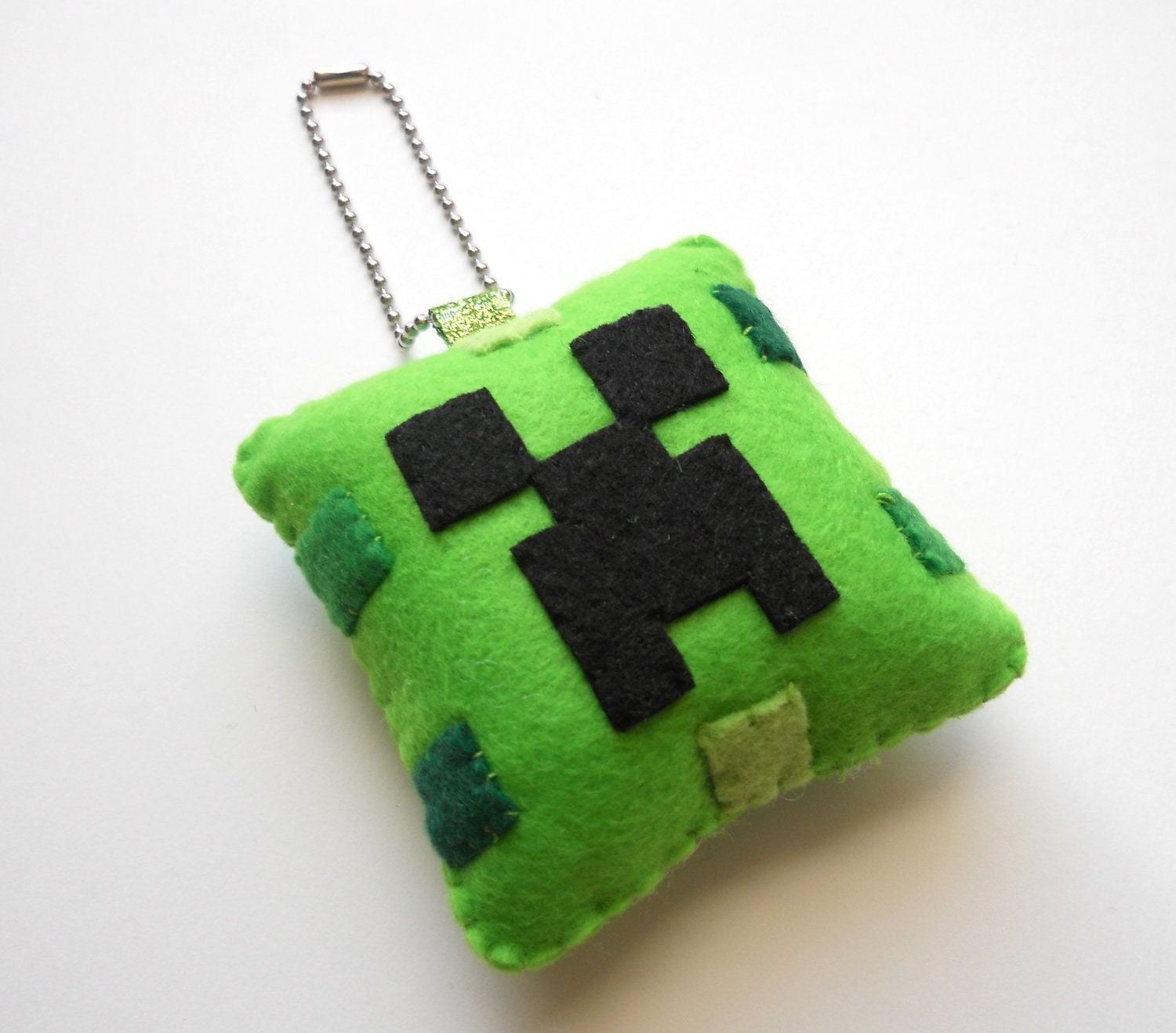 CREEPER Minecraft Christmas Ornament/Keychain by by ...