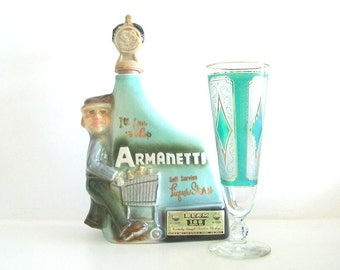 Vintage Armanetti Jim Beam Collector Bottle