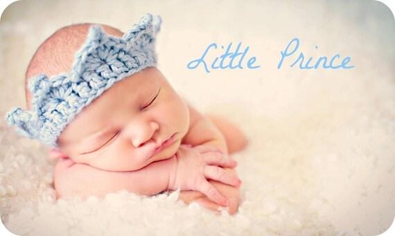 Newborn Baby Boy Photo Prop Crown