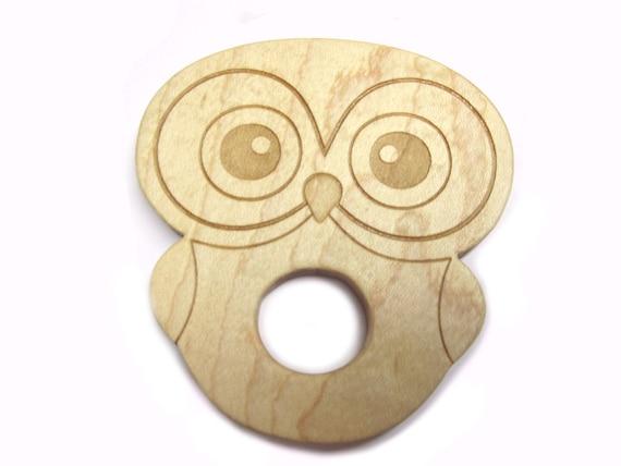 Teething ring Owl teething toy