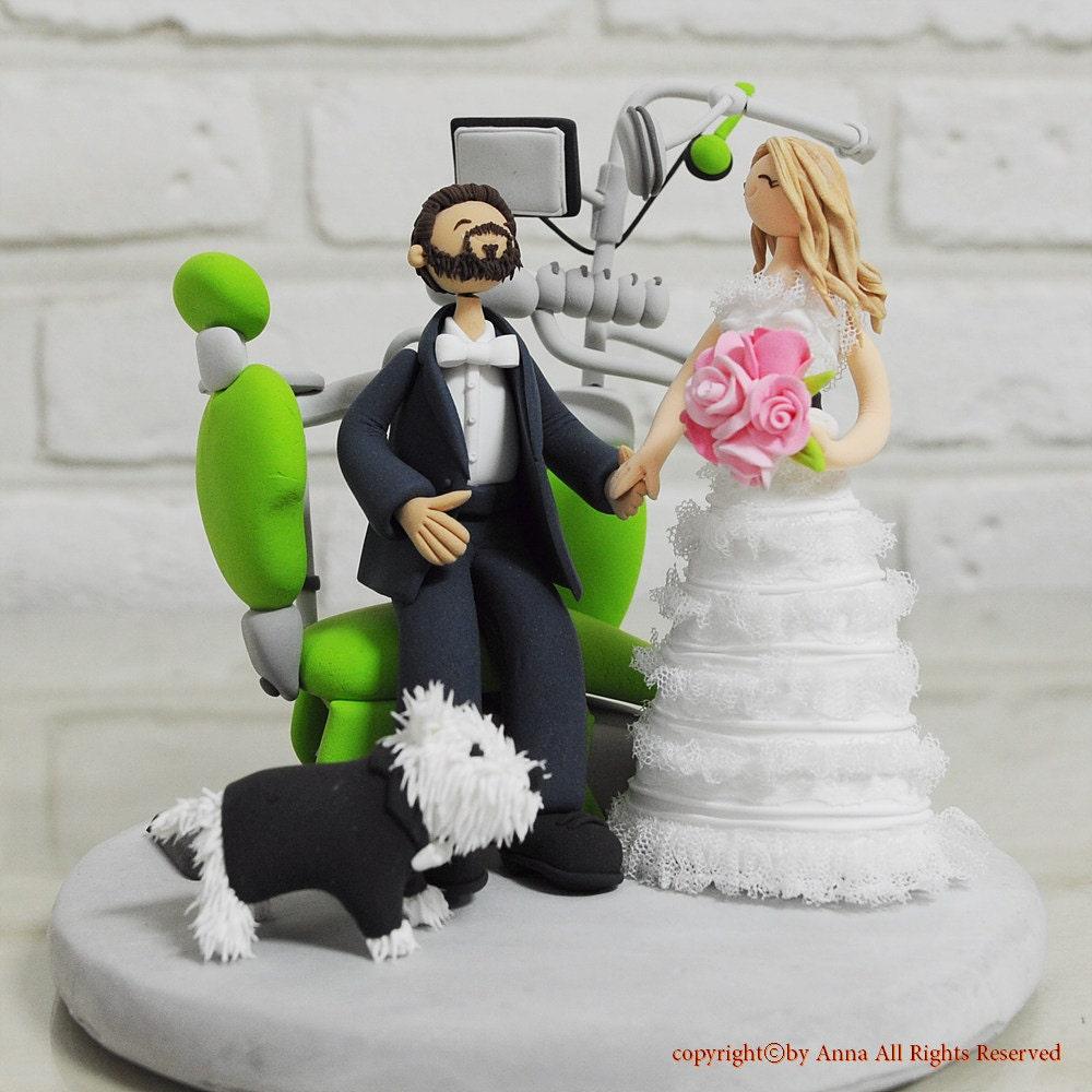 Dentist Wedding Cake Topper