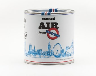 Original Canned Air From London, gag souvenir, memorabilia