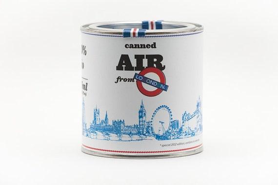 Original Canned Air From London, gag souvenir, memorabilia