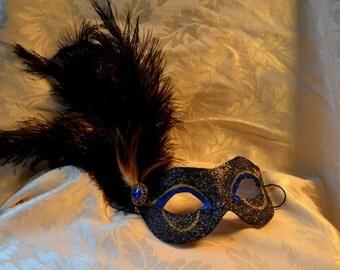 venetian feather mask