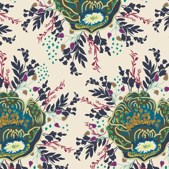 INDIE Royal Nature Mist  (IN-5107) - Patricia Bravo - Art Gallery Fabrics -  1 yard