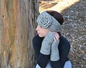 Knitted Headband - Headwarmer - Earwarmer - Headwrap - Unisex - Winter Fun - Vegan -  Gifts for Him and Her