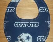 Dallas Cowboy Baby Bib