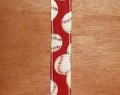 Baseball Pacifier Clip