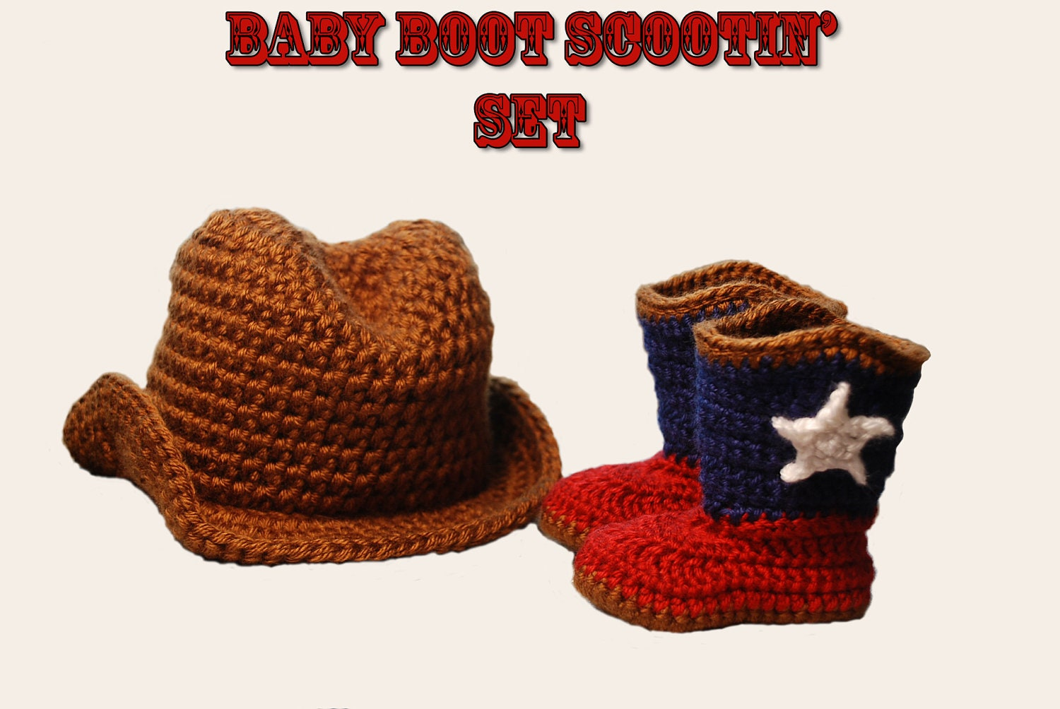 Crochet Pattern For Baby Cowboy Hat And Boots ~ Traitoro for .