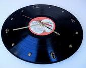 THE BEATLES Vinyl Record Wall Clock (The Beatles 1962-1966)
