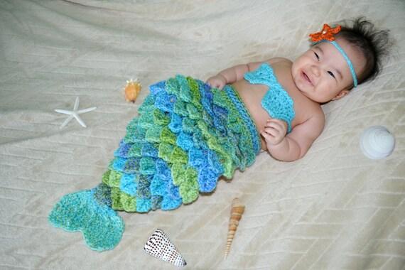 Mermaid Set with Scales