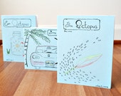 Zine & Octopus 1.3 Fall issue 3 volume 1 mini perzine literary personal memories