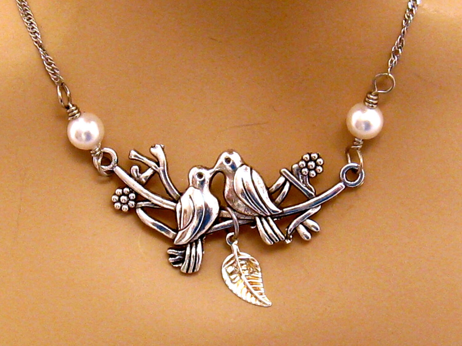 bird jewelry personalized bird necklace personalized engagement 5491