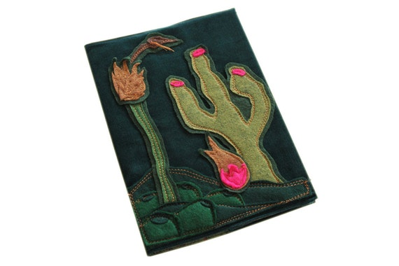 Book cover removable desert or refillable composition by tratgirl