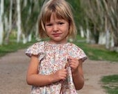 Sewing Pattern: Baby and Girl Angel Sleeve Dress and Blouse (PDF INSTANT DOWNLOAD, e-pattern, eBook)