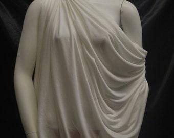 Micro Modal Silk Sheer Jersey Bleach 10 yards Cut
