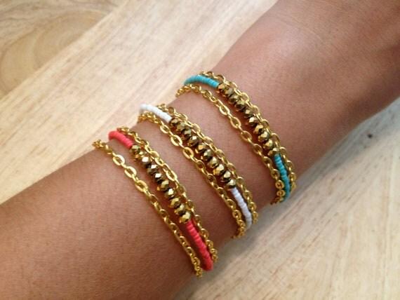 The Morocan Beaded Bracelet