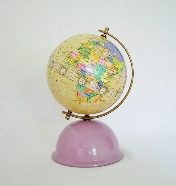 RESERVED - Vintage World Globe Bank - Korea's Premier Globe Maker - Seo Jeon - TREASURY PICK