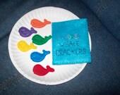 Felt Whale Crackers playfood