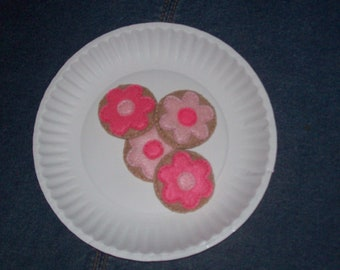 Felt Tea Party Cookies