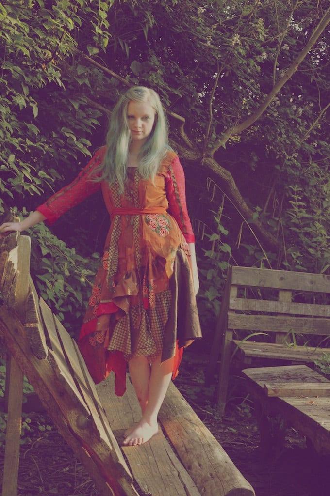 Gypsy Dress Boho Dress Bohemian Clothing Woodland Wedding