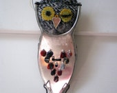 mr. personality, wool and metal owl