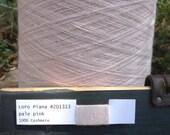 SALE - 100% Cashmere Lace Yarn, Loro Piana, 50g -- pale pink