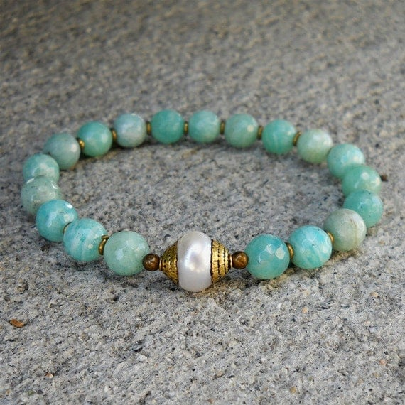 Amazonite Gemstones African Trade Beads And Tibetan By