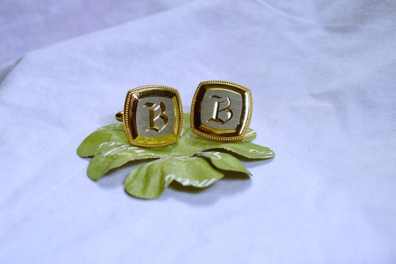 Calling All Men with the Letter B   Cuff Links