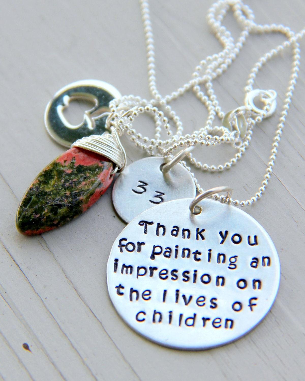 Art Teacher Gift Artist Gift Gift For Your by whiteliliedesigns