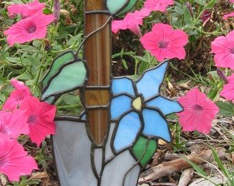Clematis Garden Trowel Suncatcher