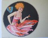 Art Deco Ink Blotter