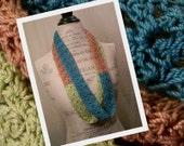Infinity Crochet Scarf - Handmade - Ready to Ship