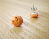 Sporty Girl Earrings... Bowling Balls