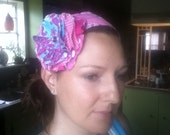Fabric Flower clip, you choose the colors