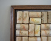 On Sale Australian Wine Cork Trivet Reclaimed Wood Used Cork Home Decor New Orleans Vintage Shop Holiday Retro
