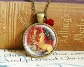 Last Unicorn - Vintage Necklace