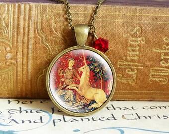 Last Unicorn - Vintage Necklace
