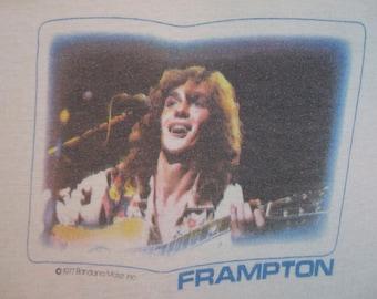 Original PETER FRAMPTON vintage 1977 tour TSHIRT
