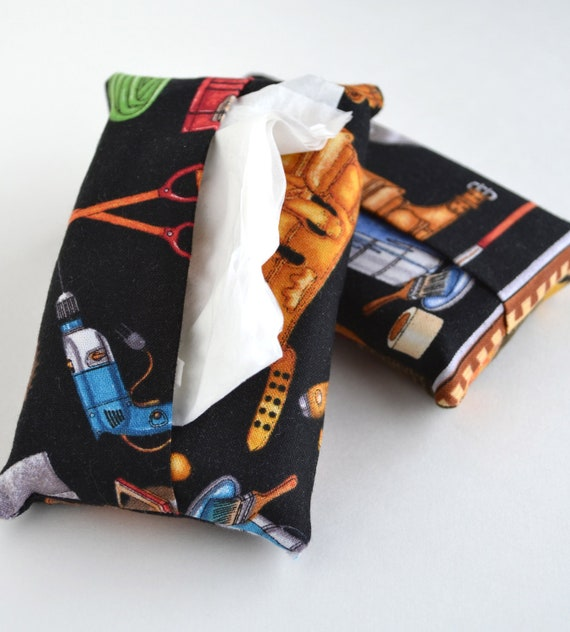 Pocket Tissue Cover, Working Man Travel Tissue Cover