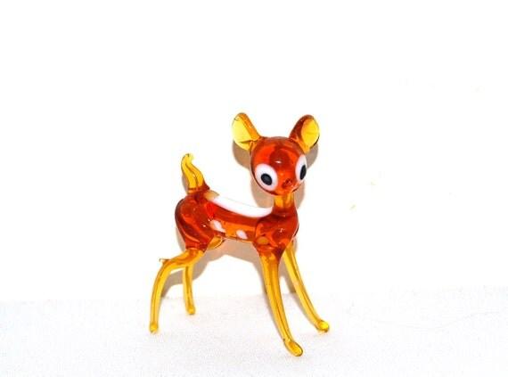 Vintage Amber Deer