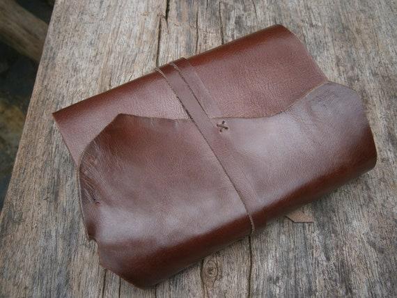 "Leather journal / handmade / 6X4"" / FREE initials"