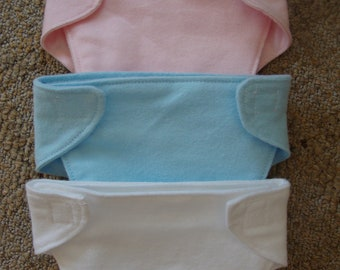 AMERICAN GIRL Bitty Baby doll diapers -SET of  3