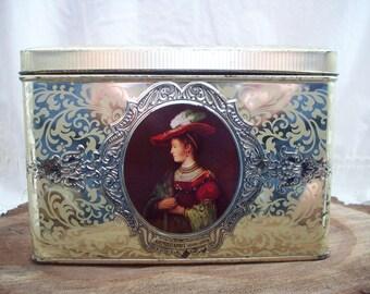 Vintage Victorian Tin