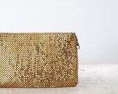 1960s Jorelle Clutch / Vintage Gold Chainmail Evening Bag