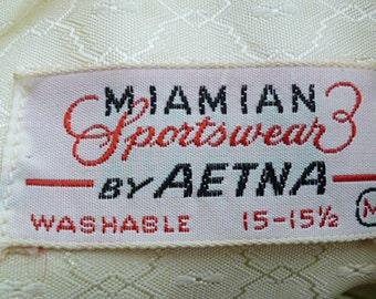 1950s Man's Formal dress shirt DEADSTOCK