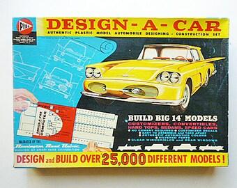 "1950's ""DESIGN A CAR"" Model Kit"