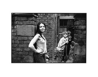 "1970's B/W Original Photograph ""Pauline"""