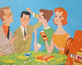 """1963 """"You Don't Say"""" Board Game"""