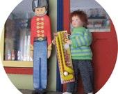 Dolls house / miniature shop kids crazy golf set